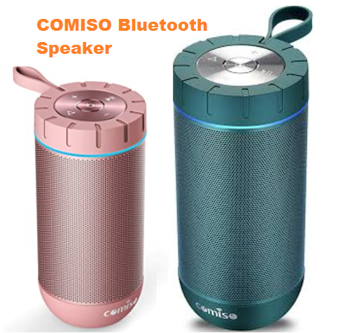 COMISO Waterproof Bluetooth Speaker Device Revisers