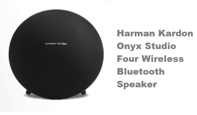 Harman Kardon Onyx Studio Four Wireless Bluetooth Speaker Black (New Model)