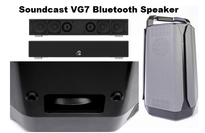 Soundcast VG7 Portable Outdoor bluetooth speaker