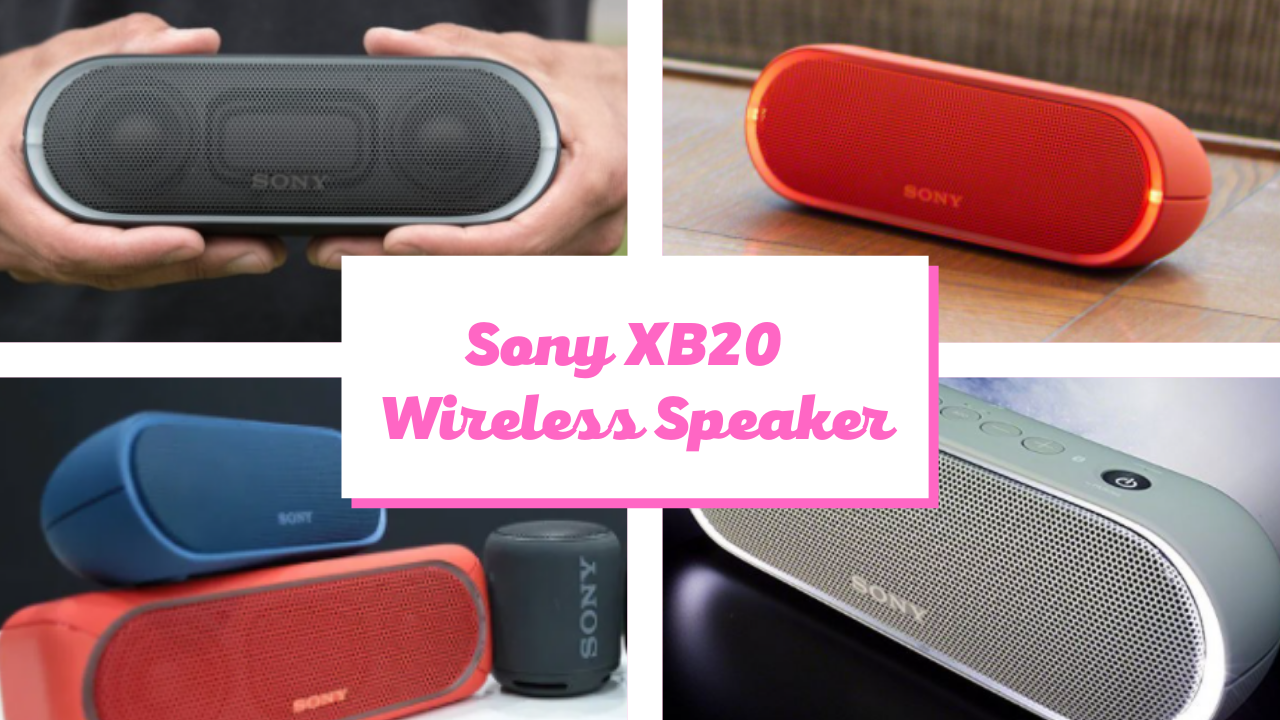 Sony XB20 Portable Wireless Speaker with Bluetooth black friday cyber monday Review